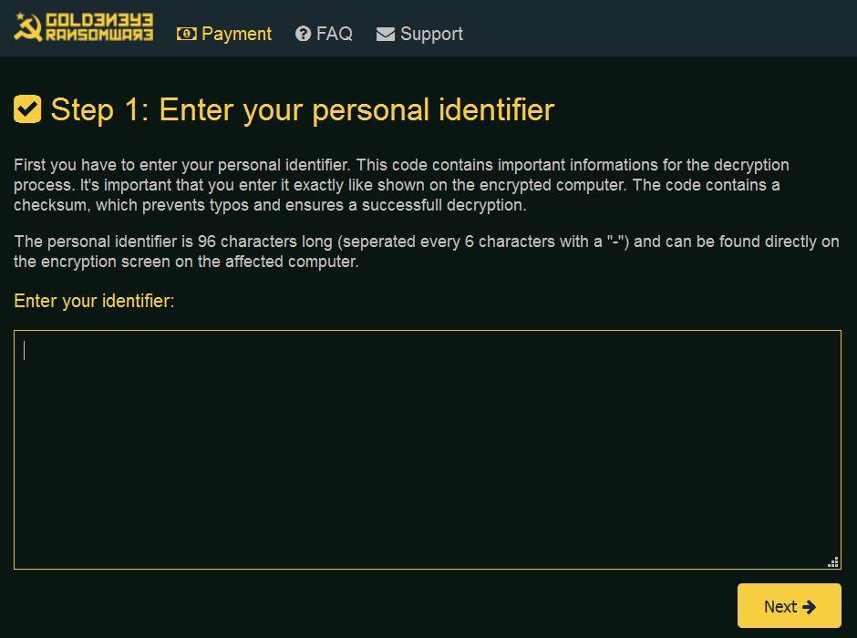 goldeneye-ransowmare-payment-page-sensorstechforum